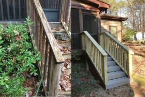 Back Steps Rebuild 2
