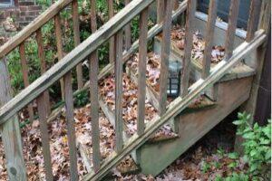 Back Steps Rebuild 3