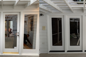 Before & After - Quad Door Replacement