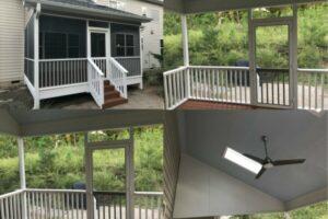 Custom Screen Porch Build