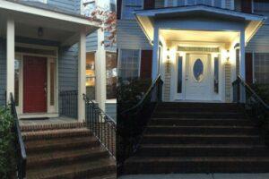 Front Porch Overhang & Door Replacement