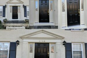 Replace Front Door & Paint - All Angles