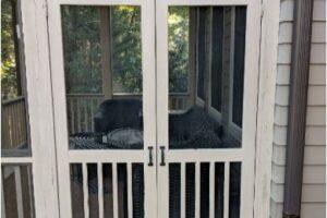 Screened Porch Door