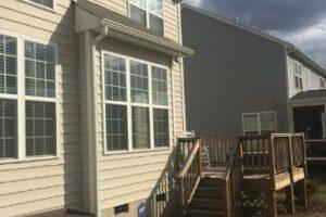 Screened porch & Deck Build 3