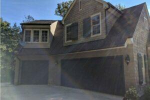 Side of house - Garage side