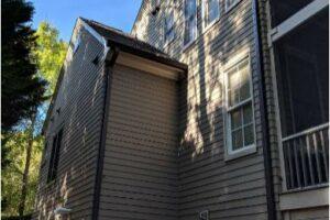 Side of house - Opposite gargae