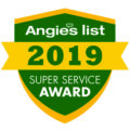 Recipients of the 2019 Angie's List Super Service Award